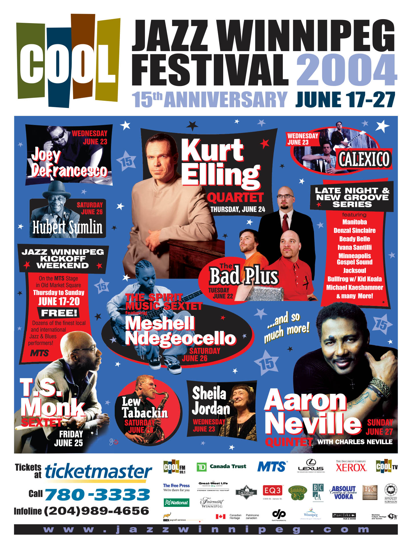 Jazz Winnipeg Festival – 2004