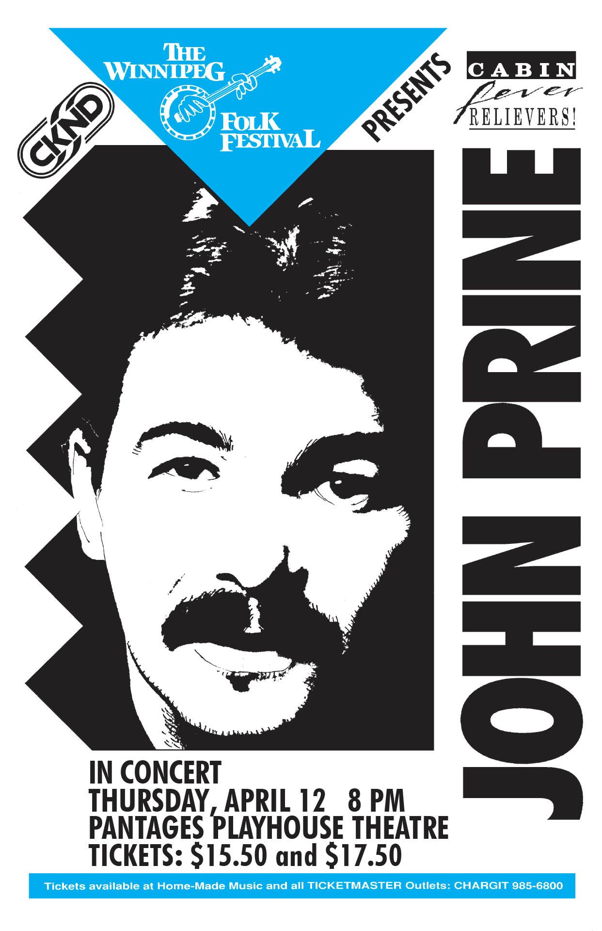 JOHN PRINE – 1990