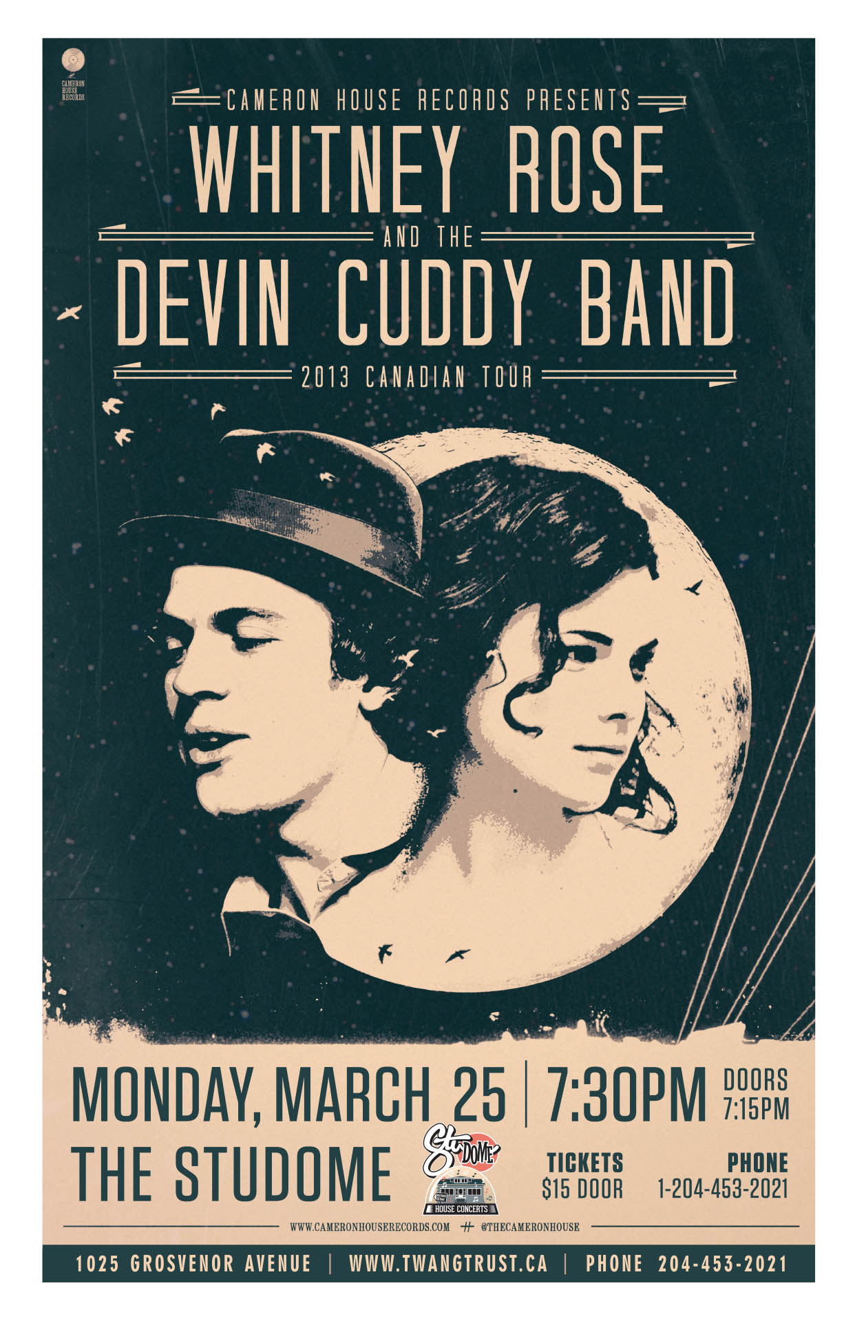 Whitney Rose & The Devin Cuddy Band – 2013